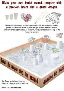 Make a Bronze Age Burial Mound activity @ Sparrow Park | England | United Kingdom